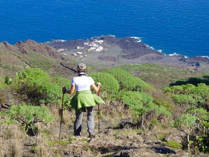 """Ruta """"De cumbre a mar"""" en la isla de El Hierro"""
